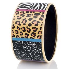 freywille animal print bracelet [I love funky, why didn't I think of this?]