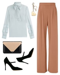 """""""Untitled #2158"""" by christawallace ❤ liked on Polyvore featuring RED Valentino, Fleur du Mal, Aspinal of London, Chanel and Tabitha Simmons"""