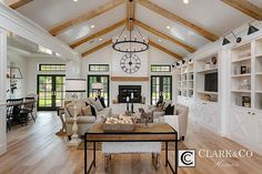 "Clark & Co Homes - 2016 Spring Parade Home ""The Heartland"". Modern Farmhouse. http://www.clarkandcohomes.com"