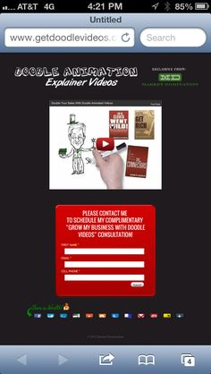 http://getdoodlevideos.com Free doodle video shows how to increase your conversions over 400%!