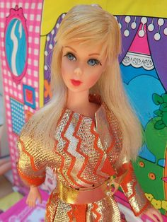 Twist 'n Turn Barbie  era mod  mattel by super.star.76, via Flickr