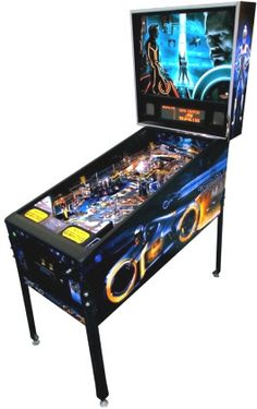 TRON Pinball Machine From Stern - The Coolest Game Ever!!
