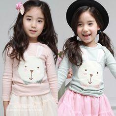 Aliexpress.com : Buy 2014 spring and autumn rabbit girls clothing baby child long sleeve T shirt tx 1133 basic shirt on Kids Fashion Clothin...