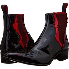 Let it rip! Make blood run cold by tapping into the vein of visual villainy and tearing into a thrilling time with the demented delight of the Jeffery-West Thorn boot! #Jeffery-West #ZapposCouture