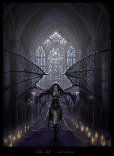 Gothic Dark Art by Suzanne Gildert