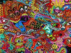 surrealistiske billeder, tegning baggrunde, psykedelisk vektor, farverige baggrunde,vektor Skrivebordsbaggrunde,Få gratis skrivebordsbaggrunde og wallpapers - ANA WALLS