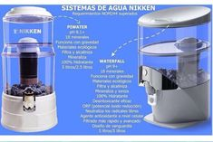 El waterfull tiene tecnología ORP es una mejor tecnología Kitchen Aid Mixer, Kitchen Appliances, Keurig, Popcorn Maker, Coffee Maker, Cl, 30th, Wellness, Amor