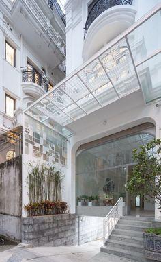 Tower Building, Sky Garden, Wooden Decks, Hanoi, Bugs, Studios, Mansions, Architecture, House Styles