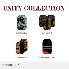Jamberry releases the Unity Collection nail wraps in honor of #blackhistorymonth #africanamerican #nailartdesigns