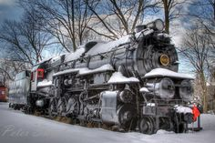 Steam Train in Snow | Steam Train 4483 - Pixdaus
