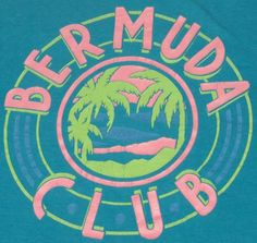 Vintage Bermuda Club t-shirt. Excellent pre-owned condition. Small graphic on front, large graphic in back.Brand: HanesTag Size: LFits Like Modern Adult MediumPit to Pit: 19