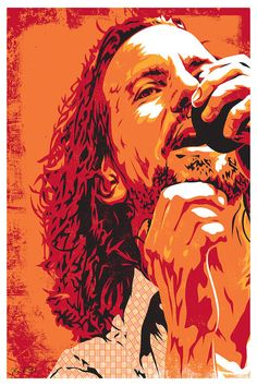 Eddie Vedder by Joshua Budich is printed with premium inks for brilliant color and then hand-stretched over museum quality stretcher bars. 60-Day Money Back Guarantee AND Free Return Shipping.