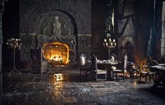 octopus fireplace game of thrones - Google Search