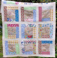 Calendar Bunnies Quilt (3) | Flickr - Fotosharing!