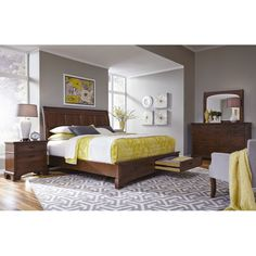 Alder creek bedroom set a charming rustic 6pc bedroom set for Bedroom furniture 78745