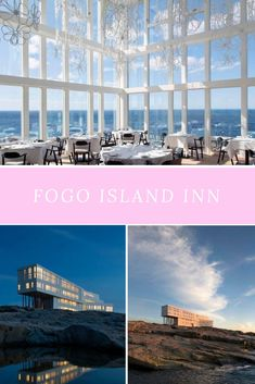 Fogo Island Inn is a magical spot on Fogo Island, Newfoundland. It's one of Canada's most eclectic hotels and a visit here is definitely splurge-worthy! Places Around The World, Around The Worlds, Fogo Island Inn, Residency Programs, Atlantic Canada, Park Resorts, Visit Canada, Local Parks, Cheap Travel