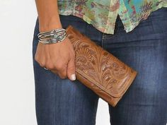 Excited to share the latest addition to my #etsy shop: Women HandmadeTooled Cowhide Leather wallet.Trifold-Women's TAN Leather Wallet-Leather Wallet, Boho wallet. http://etsy.me/2HJX3Ov #accessories #wallet #women #leather #handmade #birthday #womangift #womengift #lad