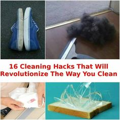 16 cleaning hacks