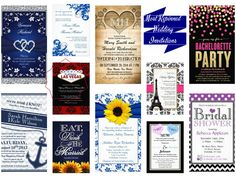 Most Repinned Wedding Invitations
