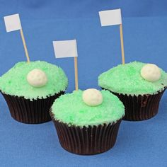 Golf cupcakes recipe | BakingMad