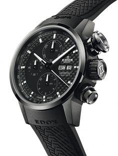 Edox | Chronorally Chronograph Automatik | Edelstahl | Uhren-Datenbank watchtime.net