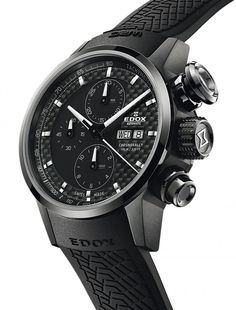 Edox | Chronorally Chronograph Automatik | Edelstahl | Uhren-Datenbank watchtime.net
