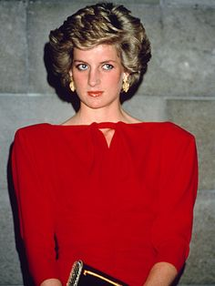 Princess Diana and Shoulder Pads 2 things to remember from the 80's