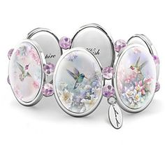 Lena Liu Wings Of Enchantment Engraved Bracelet