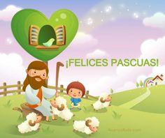 ESPECIAL DE PASCUA: Imágenes de Felices Pascuas