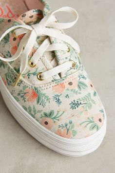 83b3edca139615 Keds x Rifle Paper Co. Sneakers Cute Shoes