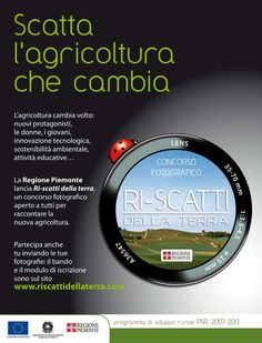 Ri-scatti dalla terra, una bella iniziativa della Regione Piemonte #foto #agricoltura