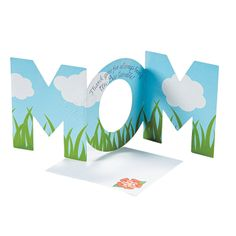 Mother's Day Sticker Cards - OrientalTrading.com You could easily make this yourself...
