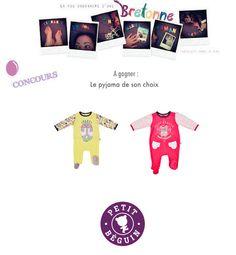 La vie ordinaire d'une bretonne: {CONCOURS - 2 ans du blog} Petit Béguin, vêtements rigolo pour enfants