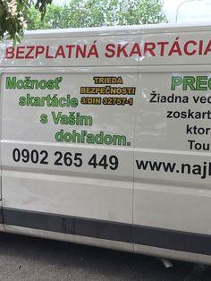 www.najlepsia-skartacia.sk Van, Vehicles, Vans, Vehicle, Tools
