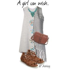 """""""A girl can wish..."""" by mtngusa on Polyvore"""