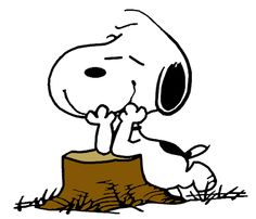 Snoopy Daydreaming