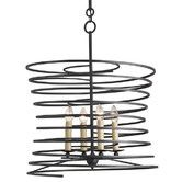 Found it at AllModern - <strong>Currey & Company</strong> Nebula 4 Light Candle Chandelier