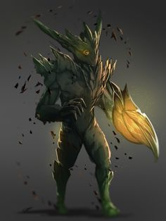 ArtStation - One Eye Treant, Ikhsan Oktrian