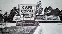 Old cape coral photos