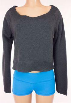 LULULEMON Good Karma Pullover Size M Medium Gray French Terry Sweat Shirt #Lululemon #TracksuitsSweats