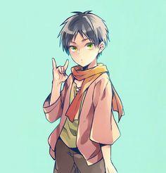 Somehow feels like Ninja!Eren hahaha..