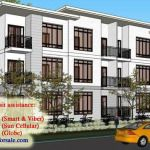 La Salle Avenue Condo Residences Artist's Perspective - Bacolod House for Sale Bacolod, Condominium, Studio, Perspective, Modern, House, Room, Trendy Tree, Home
