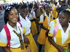 Jamaican School girls