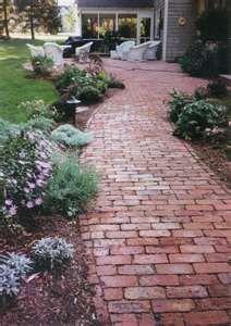 sweet brick path
