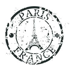 "Paris France 8""x8"" Artisan Enhancements Stencil"