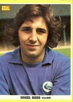 Nigel Rees of Cardiff City in 1971.