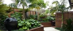 Get suggestions for having fun a stunning Tropical Garden, landscape, or lawn. Our specialists show you everything necessary to actually tropical gardens backyard Small Tropical Gardens, Tropical Garden Design, Tropical Landscaping, Garden Landscape Design, Garden Landscaping, Landscaping Ideas, Tropical Plants, Exotic Plants, Pergola Ideas