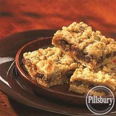 #Oatmeal Carmelitas from Pillsbury® Baking