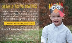 Free Printable Turkey Hat - Download now!