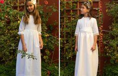 Colección vestidos de Comunión 2012 de Orange & Olive para niñas